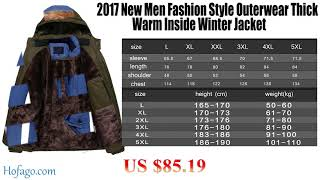 Style Outerwear  Winter Jacket  Men Parkas_hofago.com