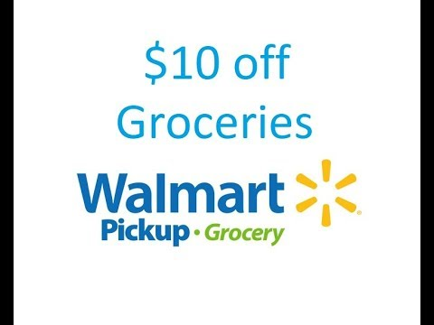 walmart grocery pick up promo code december 2018
