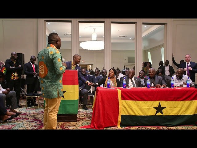 President of the Ghana National Council , Paa Kwasi Sam Makes case for Consulate Office