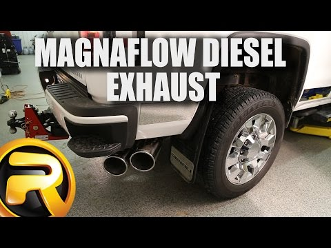 How to Install Magnaflow Pro Series Diesel Exhaust Systems