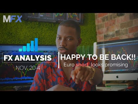 Forex Analysis | Euro Short Opportunity | Back from NYC