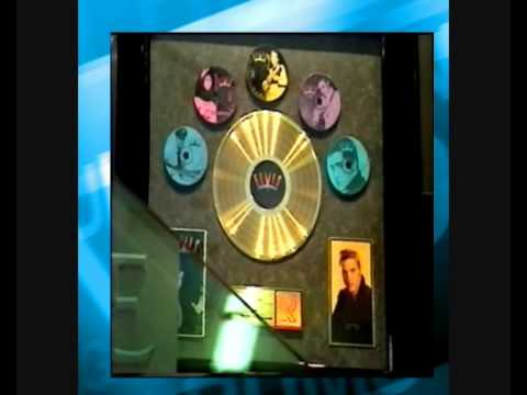 TROPHY ROOM GOLD RECORDS. AT GRACELAND