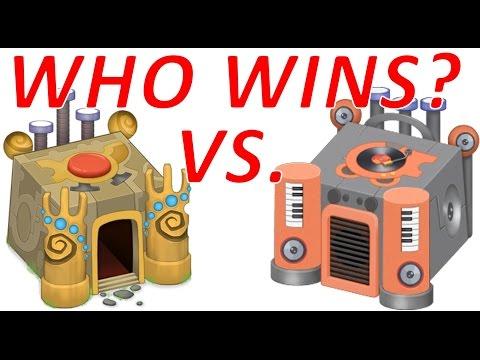 75 million Wubbox VS. 1 starpower Rare Wubbox! Who wins? - My Singing Monsters
