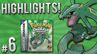 Pokemon Emerald Randomizer Nuzlocke - Highlights!   PART 6