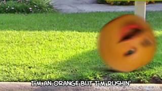Annoying orange fry-day(SPED UP)