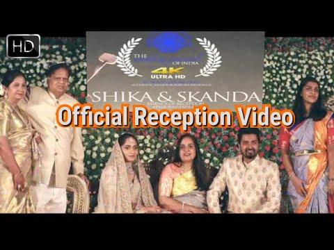 Skanda Ashok Marriage Reception | Official Video | HD