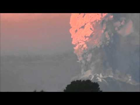 Calbuco volcano: UFO mystery after flashing craft is spotted in dramatic eruption footage in Chile