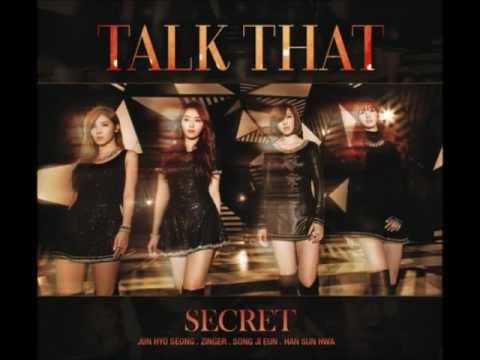 [MP3/DL] Secret 시크릿 - Talk That [Official Audio] ♥
