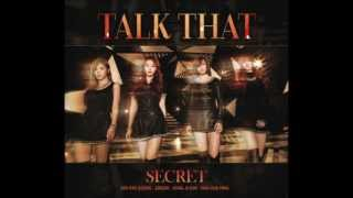 [MP3/DL] Secret 시크릿 - Talk That [Official Audio] ♥