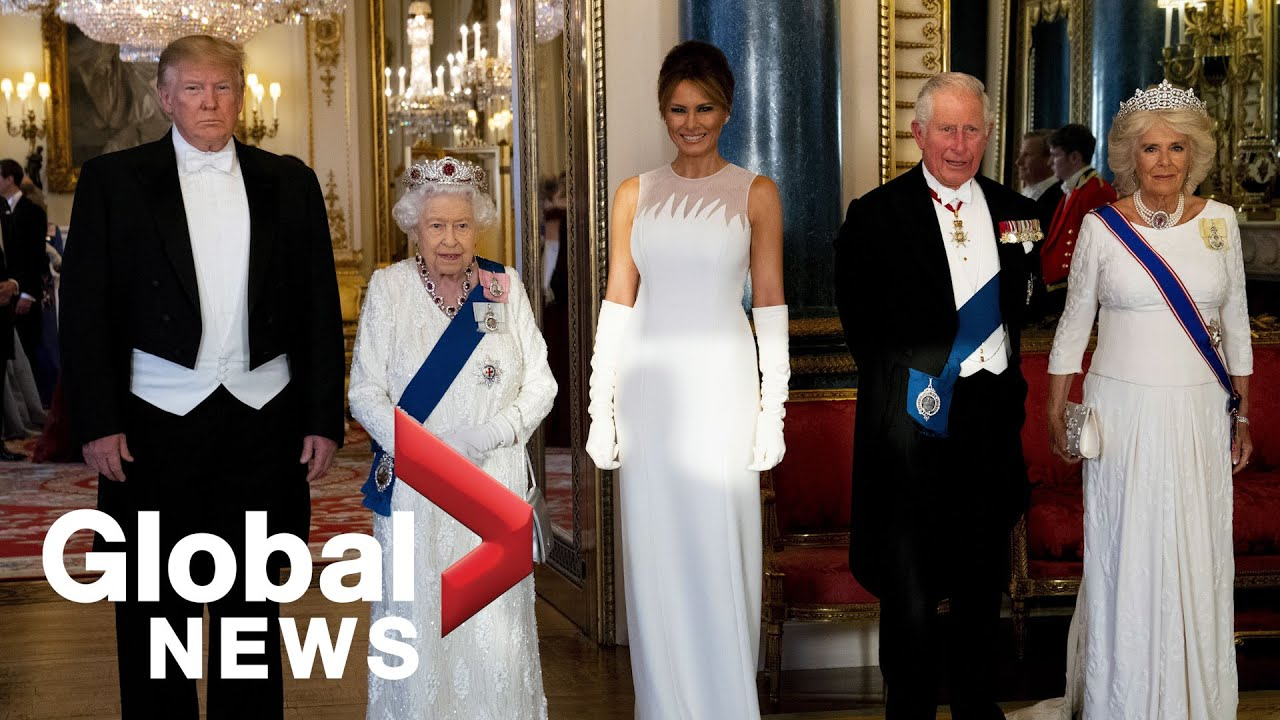 Global News - Trump attends royal state banquet hosted by Queen Elizabeth II