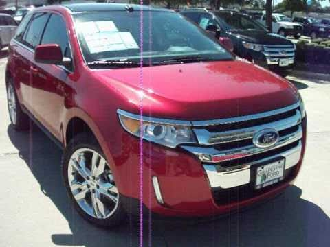 Ford Edge Limited Start Up Exterior Interior Tour