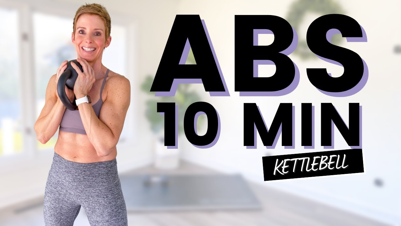 10 Minute ABS with Kettlebell