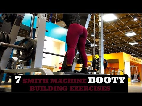 7 MUST TRY SMITH MACHINE BOOTY EXERCISES || FULL WORKOUT