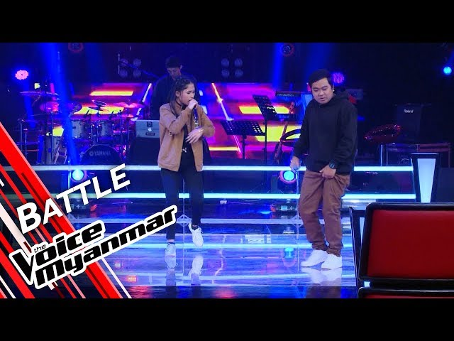Yamone Zin Oo VS Triz: Let's Go/Welcome To The Party/စတင္ျခင္း | Battle - The Voice Myanmar 2019