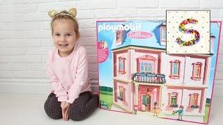 Большой Кукольный домик Плеймобил Софи  Playmobil Dollhouse Романтический Дом