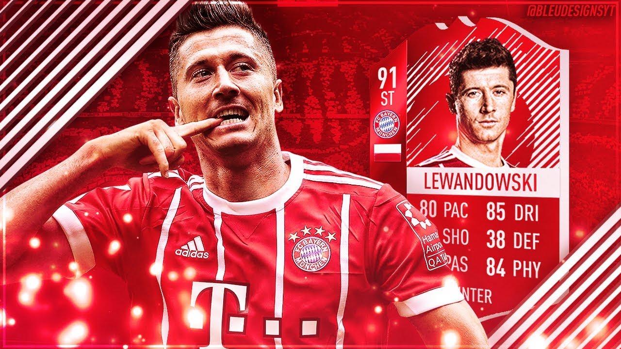 Lewandowski Fifa 18