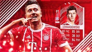 FIFA 18 THUMBNAIL SPEEDART #7: ROBERT LEWANDOWSKI SPECIAL HIDDEN FIFA 18 CARD HIGHEST RATED / TOP 10