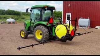John Deere 110 gal 3 Point Boom Sprayer
