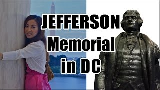 Jefferson Memorial in WDC! 第3代アメリカ大統領のトーマス・ジェファーソン記念塔!