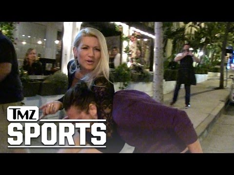 Lacey Von Erich Puts TMZ Camera Guy in Headlock! | TMZ Sports