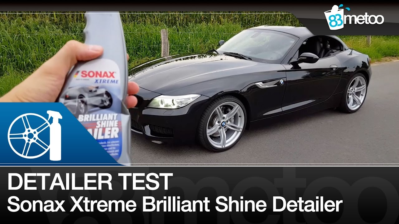 sonax xtreme brilliant shine detailer erfahrungen test. Black Bedroom Furniture Sets. Home Design Ideas