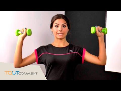 Maigrir des cuisses, des bras et des hanches rapidement : exercices pour femme