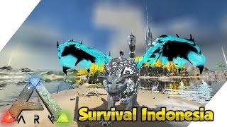 Bionic Manticore + Monster Hunter Lagi #9 (Mystic Academy) - Ark Survival Evolved Indonesia Gameplay