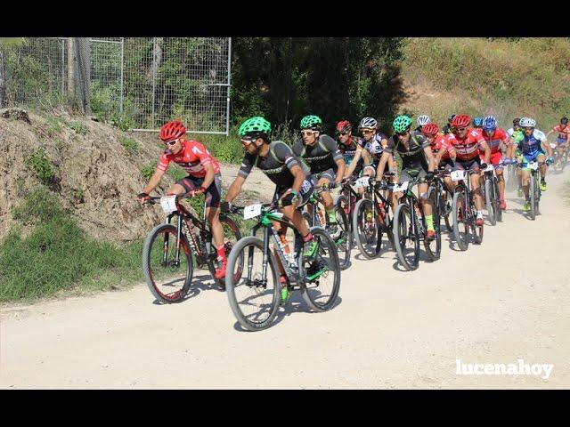 Vídeo: Lucena acoge la primera etapa de la Vuelta Ciclista a Andalucía MTB 2016