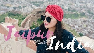 Jaipur, the Pink City of India | TRAVEL VLOG 3