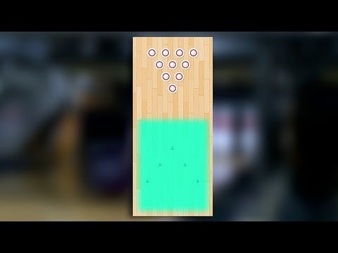 How To Bowl On A Flat Oil Pattern Youtube