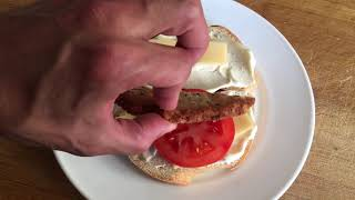 Easy recipe for homemade cheese sandwich with meat ketchup