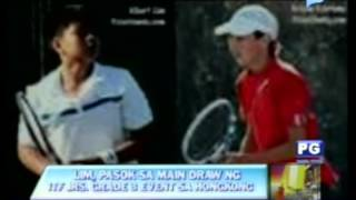PTV Sports - (Tennis) Lim, pasok sa main draw ng ITF juniors grade 3 event sa hongkong
