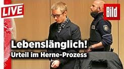 Herne-Killer vor Gericht – Lebenslang für Marcel Hesse | BILD live 31.01.2018
