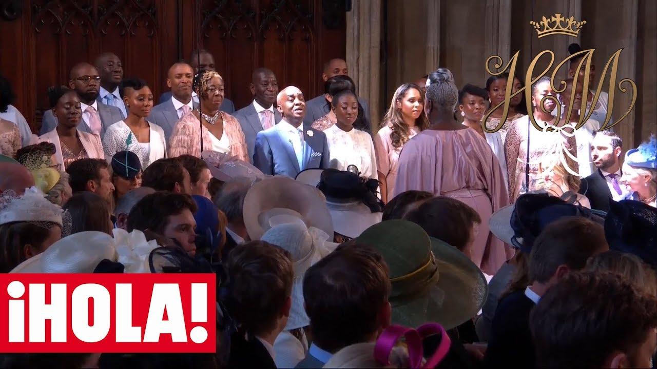 El CORO GOSPEL canta 'STAND BY ME' en la BODA de MEGHAN y HARRY