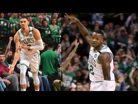Horford, Rozier, Tatum Combine 83 Pts Win Game 1! 2018 NBA Playoffs