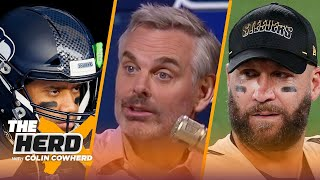 Russ Wilson's ego isn't the problem, Steelers & Big Ben are playing chicken - Colin | NFL | THE HERD