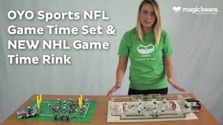 REVIEW: OYO Sports NFL Game Time Set and NEW NHL Large Rink Set | new | ratings | prices