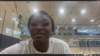 WBB: Dana Evans Post WNBA Draft Press Conference