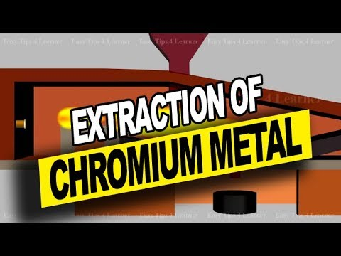 Extraction of Chromium Metal from Chromite Ore | Occurrence, Principles and Properties