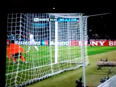 GOAL Inter Milan 2-1 Chelsea