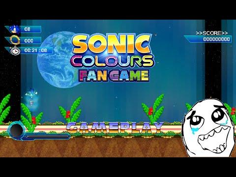 Sonic Colors [Fan Game] Planet Wisp HD!