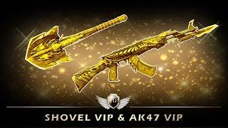 [CFVN] AK47 VIP Born Beast và Shovel Xẻng VIP Born Beast (& Noble Gold)