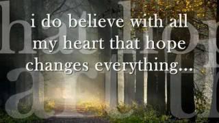 Hope changes everything lyrics - New Song