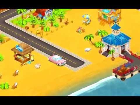 Cartoon City: farm to village. Build your home 1