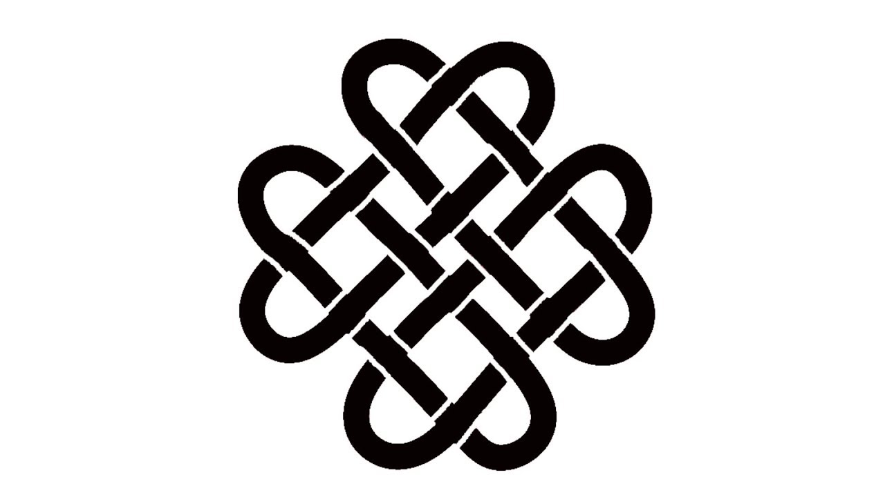 drawing celtic knots how to draw celtic symbols youtube