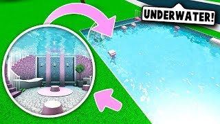 I MADE A SECRET UNDERWATER ROOM ON BLOXBURG! (Roblox)