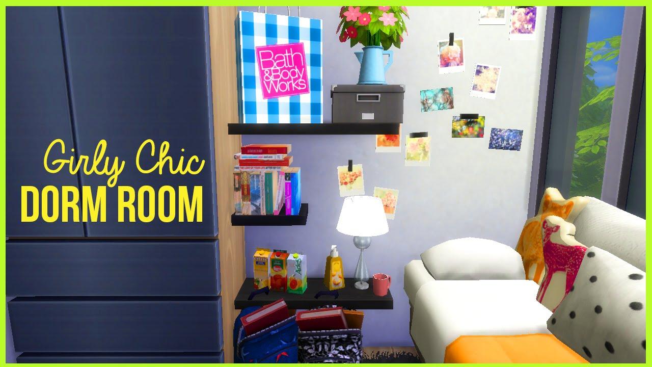 Decorating Ideas > The Sims 4  Lets Build A University Dormitory Part 2  ~ 030353_Nerdy Dorm Room Ideas