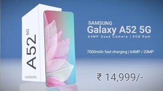 Samsung Galaxy A52 | 7000mAh Battery | 5G & Snapdragon 750G |  Launch Date | Price #GalaxyA52