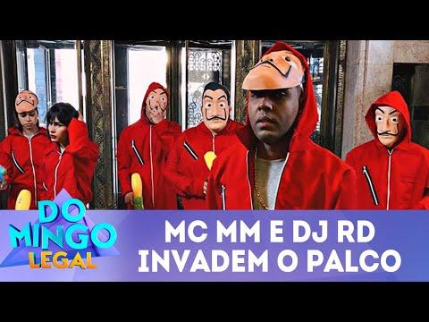 MC MM e DJ RD invadem o palco | Domingo Legal (22/04/18)