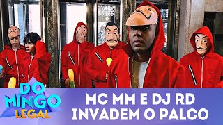 Baixar MC MM e DJ RD invadem o palco | Domingo Legal (22/04/18)